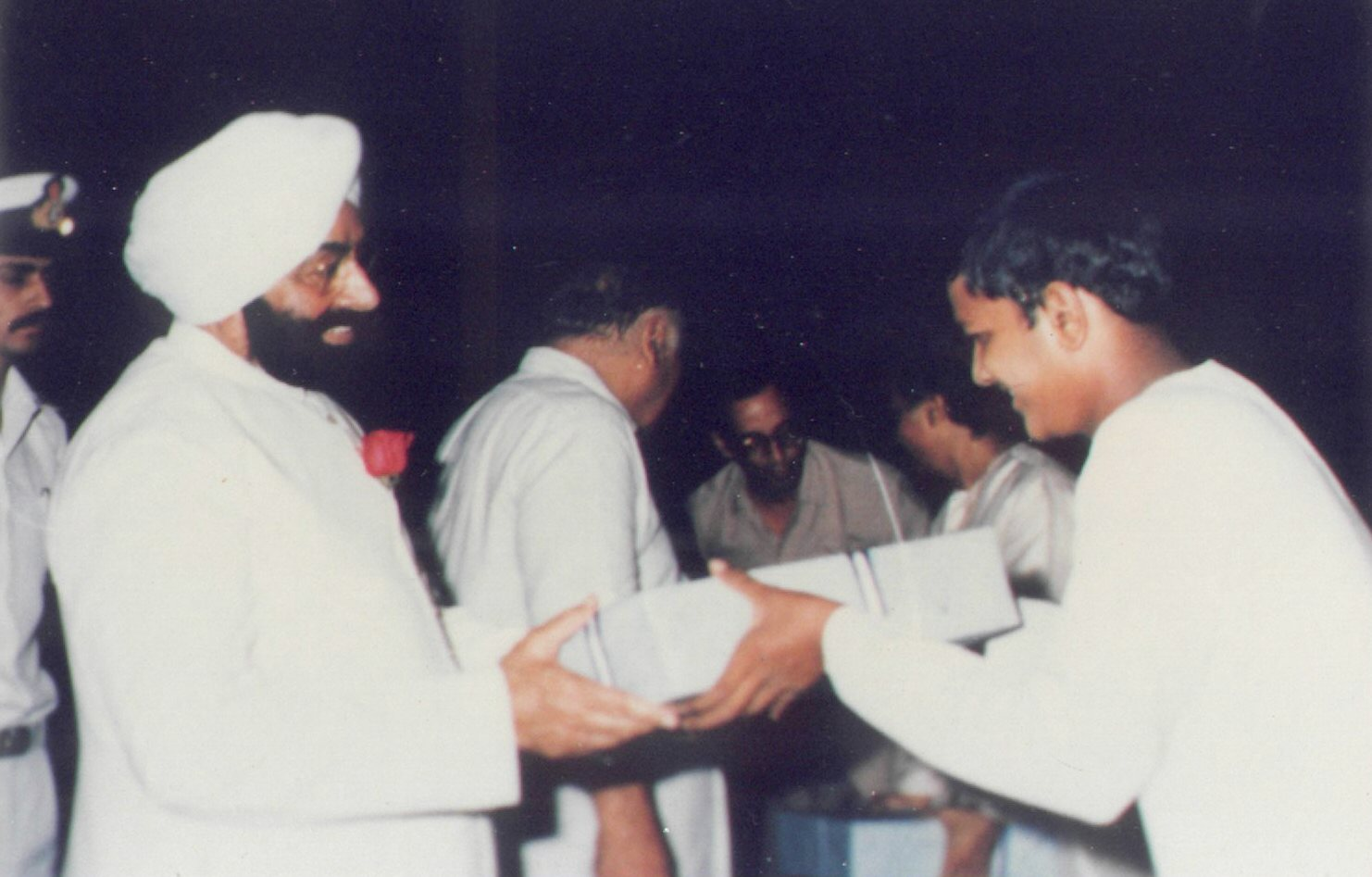 With then President of India Hon Shri Jhailsingh